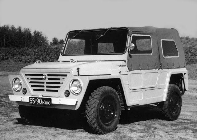 VAZ-E2121 'Crocodile', 1971
