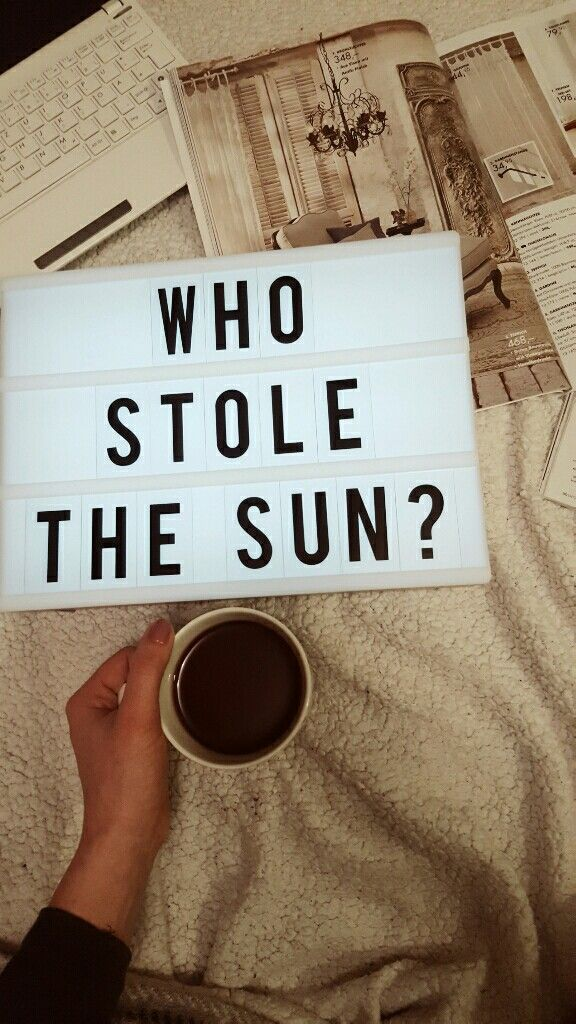 who stole the sun?