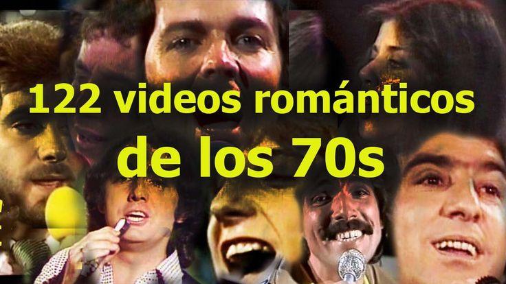 122 videos románticos de los 70s! Viaja a esta época dorada de la música...