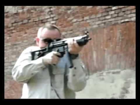 ak47 kalashnikov shooting krakow- partykrakow - YouTube