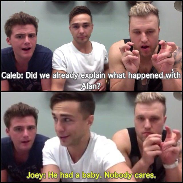 Oh Joey, dear. I will marry you