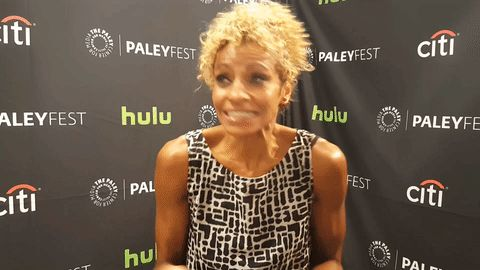 look looking starz paleyfest paleyfest previews paley center ash vs the evil dead michelle hurd #humor #hilarious #funny #lol #rofl #lmao #memes #cute