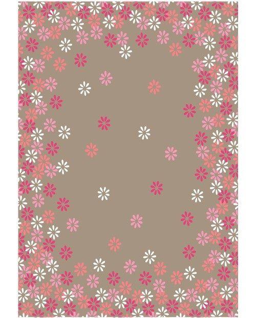 Tafelkleed Lief: vrolijk gekleurd tafelkleed. Leg dit kleed op je tafel en je creëert direct een zomerse sfeer!