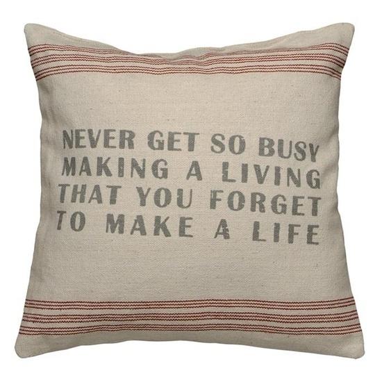 Life Pillow.