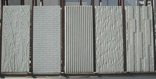 Revestimiento de fachada de hormigón / texturado / de panel Alfanar