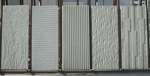 Textured Cement Panels : Best ideas about concrete facade on pinterest