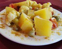 Crock Pot Indian Vegetable Curry Recipe - Vegetarian Crockpot Recipe - Indian Vegetarian Recipe - Easy Vegan Curry - Fat-free - Low Fat