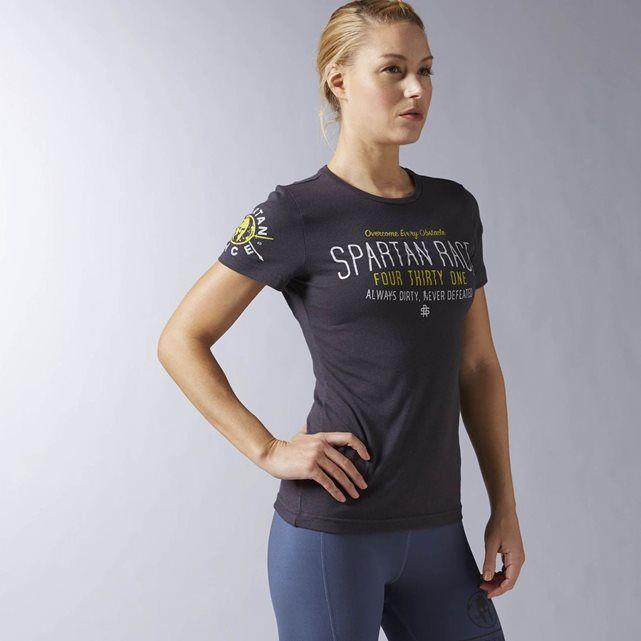 T-shirt manches courtes Tri Blend Spartan Race REEBOK SPORT