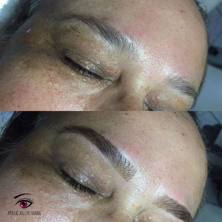 Design de sobrancelhas com aplicação de henna  Agende o seu horário: (85) 98684.8488 . . . #designdesobrancelhas #sobrancelhaspoderosas #sobrancelhasperfeitas #depilacaofortaleza #henna #hennadesign #eyebrows #fortaleza #sobrancelhas #ateliejullyeviana