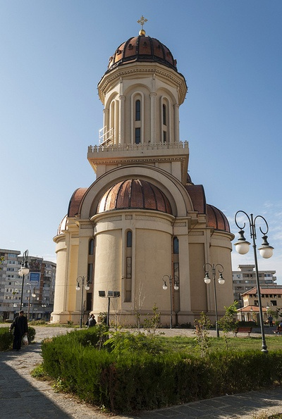 Braila, Romania The new Cathedral built after the 1989 events