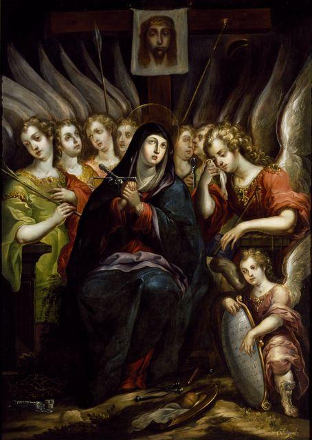 Cristóbal de Villalpando | The Virgin of Sorrows | Artsy