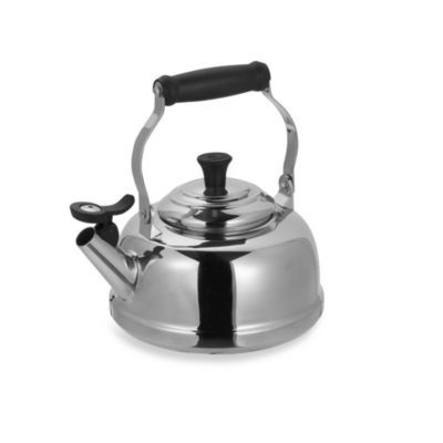 Le Creuset® 1.8-Quart Stainless Steel Whistling Tea Kettle - BedBathandBeyond.com