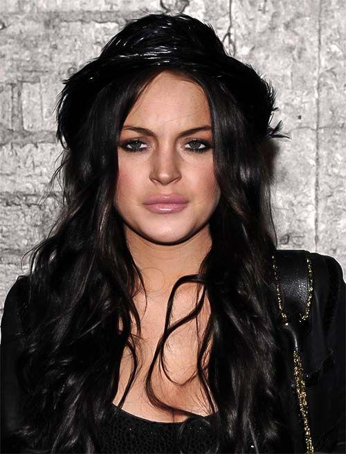Lindsay Lohan Brunette Hair 91