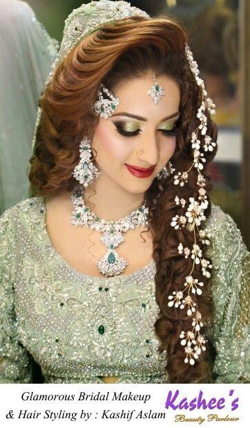17 Best Images About Kasheeu0026#39;s Glamorous Hair Styling. On Pinterest | Studios Pakistani Bridal ...