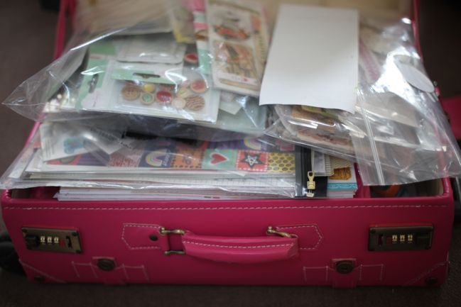 how to pack for a scrapbooking retreat or crop
