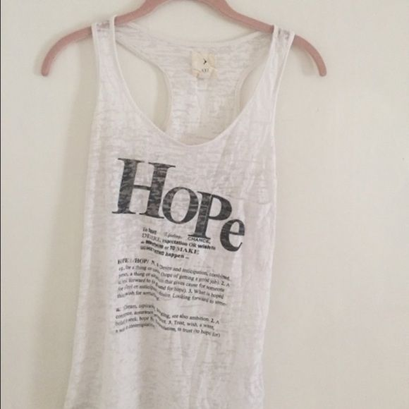 Hope definition tank #hope #words #tanktop #tank #comfortable #comfy #comfyandcasual Forever 21 Tops Tank Tops