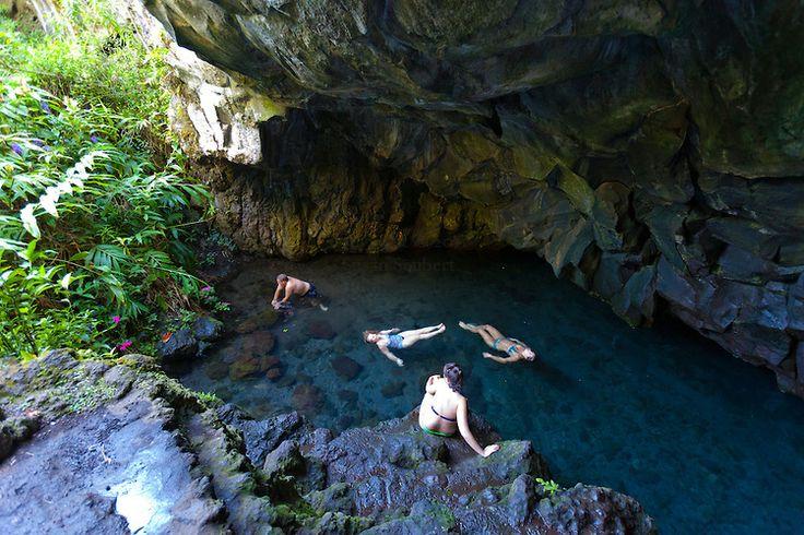 Waianapanapa cave Maui. Regret not taking my water shoes