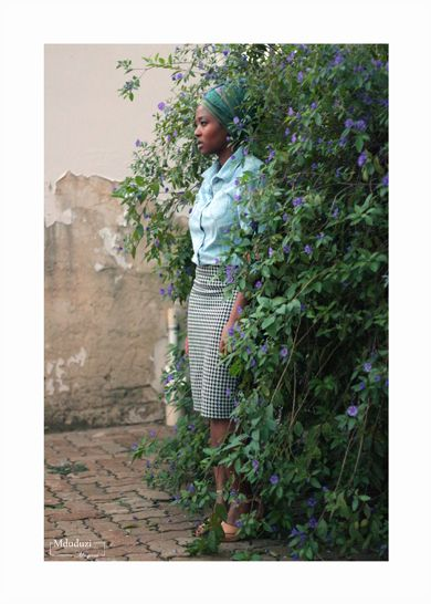 WHEN SHE WAS ONE, WITH NATURE …  Invading her space with my camera.  A_Photo_A_Day  #Photography #@LeoKcloud #Green #Purple #Woman_ #Beautiful #@IIXDudah