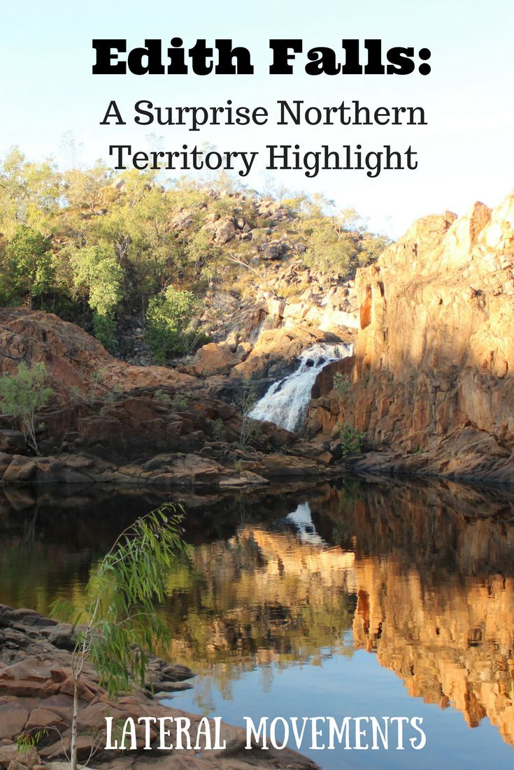 Edith Falls, a Northern Territory Highlight in Australia