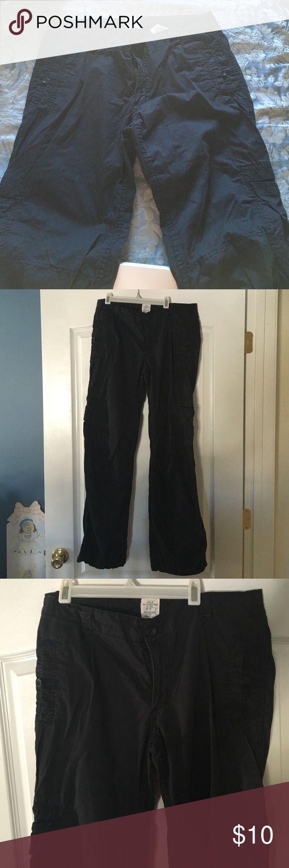 Black khaki pants Black khaki pants in great condition from H&M H&M Pants