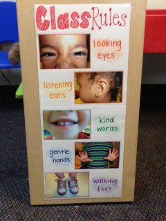 Rainbow Child Care: Leo, Indiana, Preschool Classroom Rules