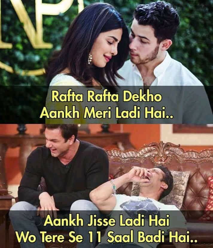 Age Doesn T Matter In Love As Love Is Blind Some Funny Jokes Funny Jokes In Hindi Jokes Quotes