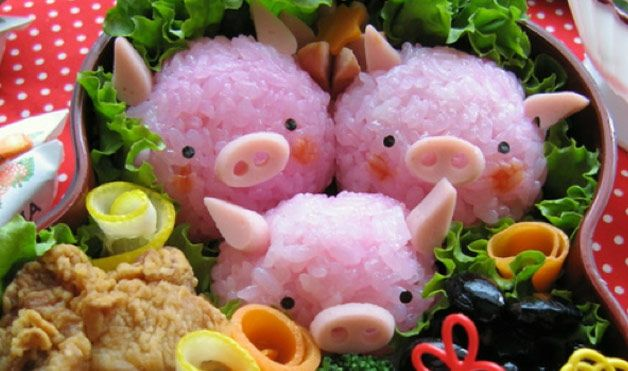 Bento Box Food Art