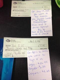 Life Skills in High School: Writing checks
