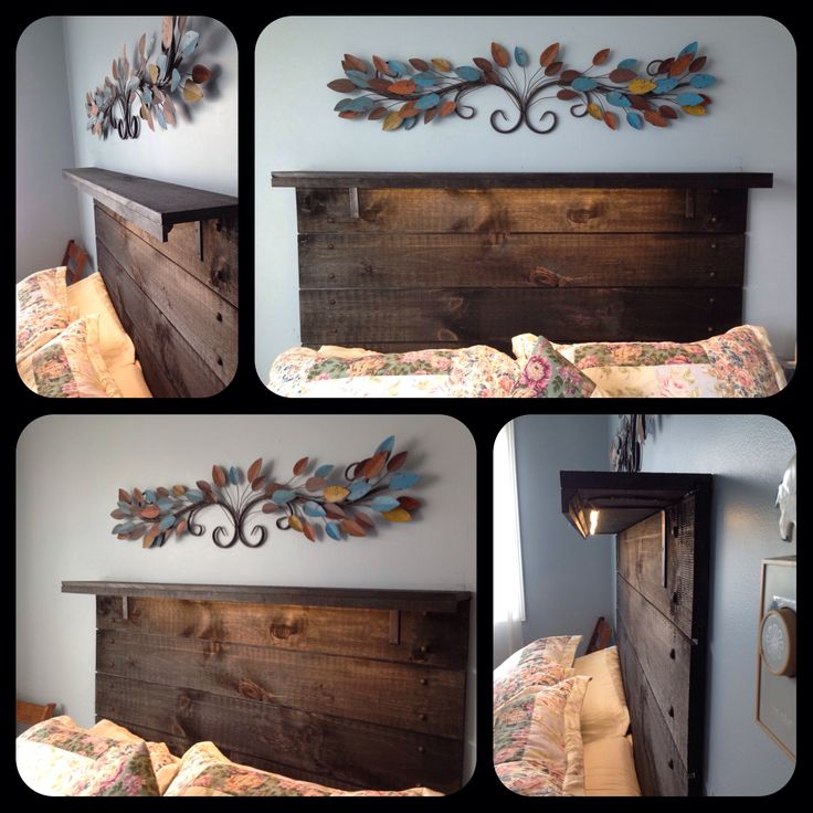 59 Incredibly Simple Rustic Décor Ideas That Can Make Your: Best 25+ Barn Board Headboard Ideas On Pinterest