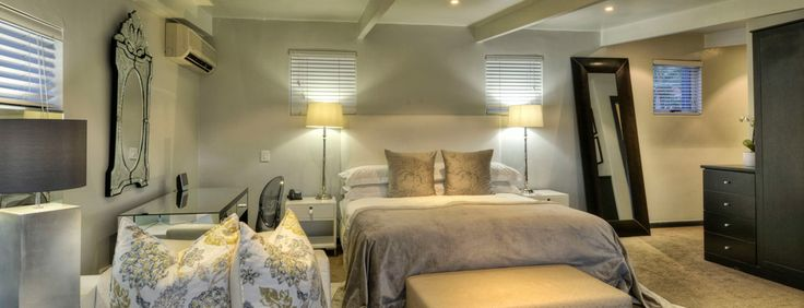 Guest room at O on Kloof Boutique Hotel in Cape Town
