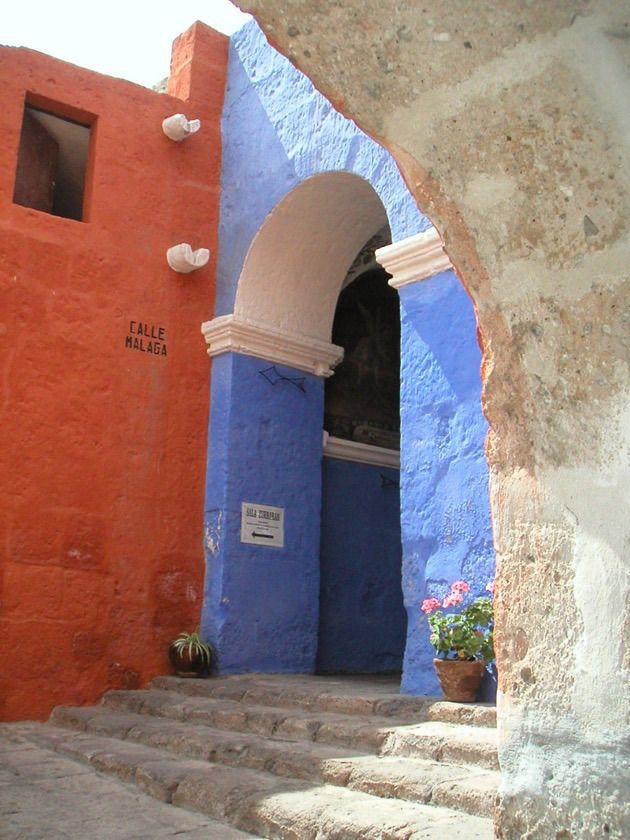 monastère de #SantaCatalina #Perou #Arequipa