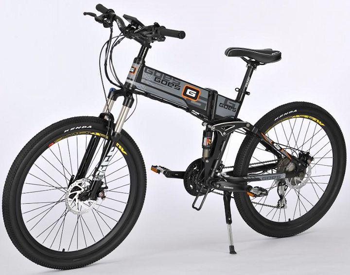 #Alquiler de #bicicleta #eléctrica plegable GOES ebike