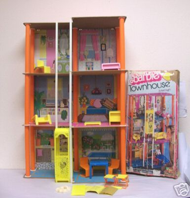 Barbie Three Story Townhouse - was very jealous of my friend who had this... ;)