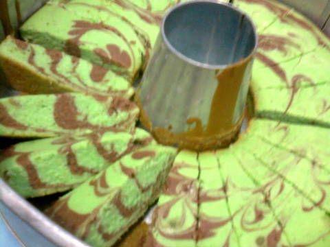 Resep Bolu air a.k.a marmer cake ekonomis oleh Chalia Chali - Cookpad