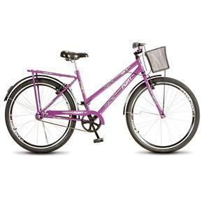 Bicicleta Colli Feminina Reforçada Aro 26 Fort - 194 - Violeta