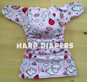 When Pigs Fly OS Hybrid Cloth Diaper