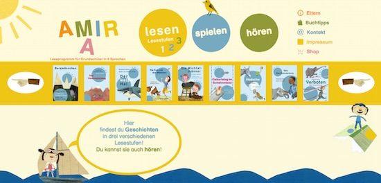 Das Programm AMIRA ist ein Leseförderprogramm für Leseanfänger. Es hat Kinder im Blick, die Deutsch als zweite Sprache lernen. Aber auch Kinder mit Deutsch als Muttersprache profitieren von diesem Programm.  #DAF #DAZ