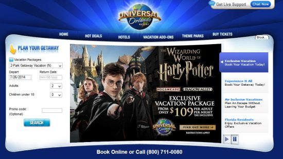 Universal Orlando vacation packages - insider tips, tricks, & secrets