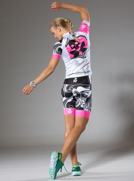 Betty Designs Pink Signature Cycle Bib Short