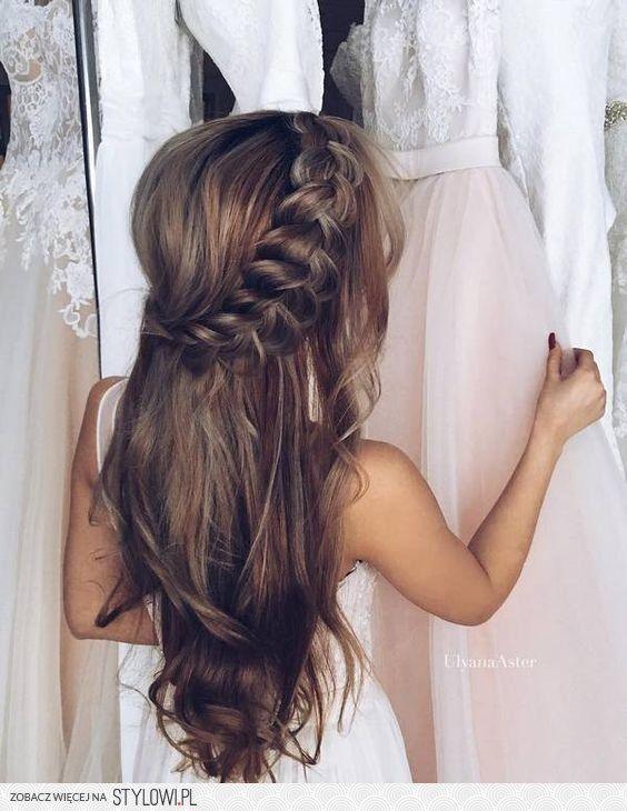 Stylowi Pl Odkrywaj Kolekcjonuj Kupuj Little Lady Pinterest Hochzeitsfrisuren Frisur