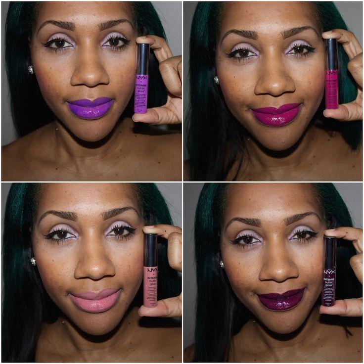 Nyx Intense Butter Gloss Dark Skin - Google Search  Make-Up-6449
