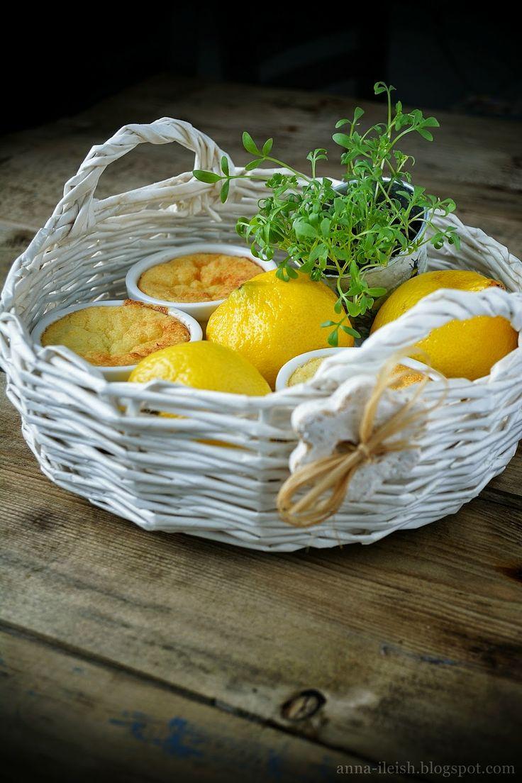 Вкусные домашние обеды: Творожная запеканка с лимоном