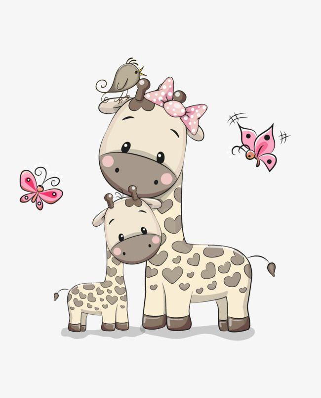 Vector Cartoon Material Cartoon Clipart Giraffe Vector Giraffecartoon Png Transparent Clipart Image And Psd File For Free Download Cartoon Giraffe Cartoon Clip Art Giraffe
