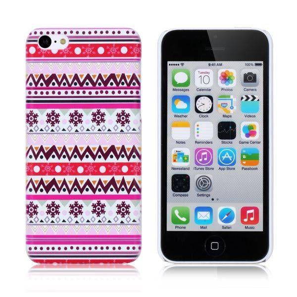 Paars aztec hoesje iPhone 5C