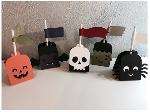hi everyone today i am sharing some fun treat holders for classrooms friends or - Halloween Treat Holders