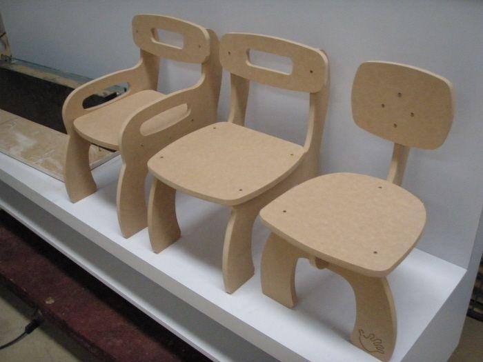 CNC Manufactured Kid's Furniture by Javier Paz at Coroflot.com