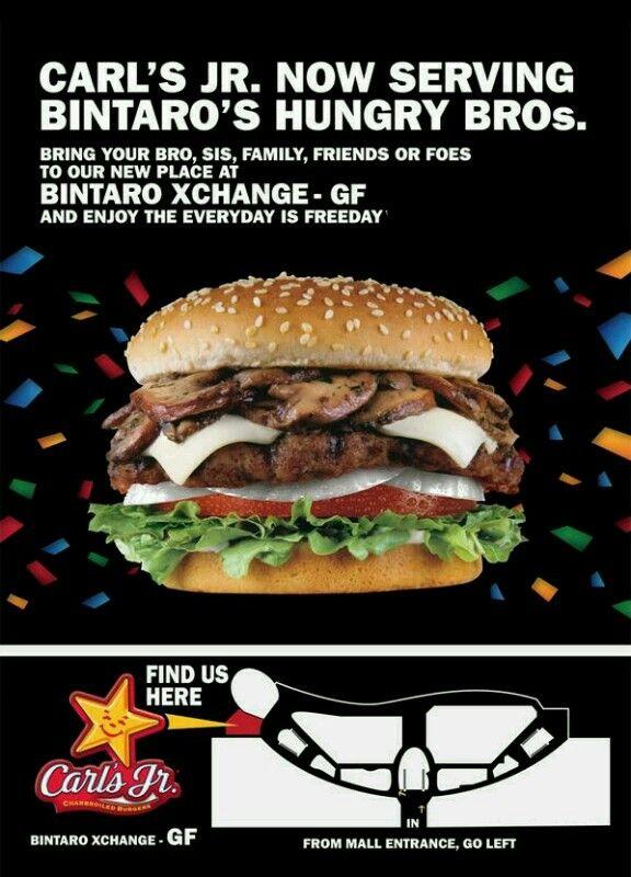 Carl's Jr is now open in Bintaro Xchange!