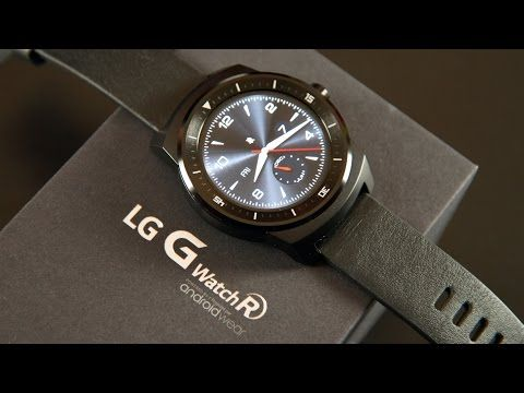 LG G Watch R: Unboxing & Overview - YouTube