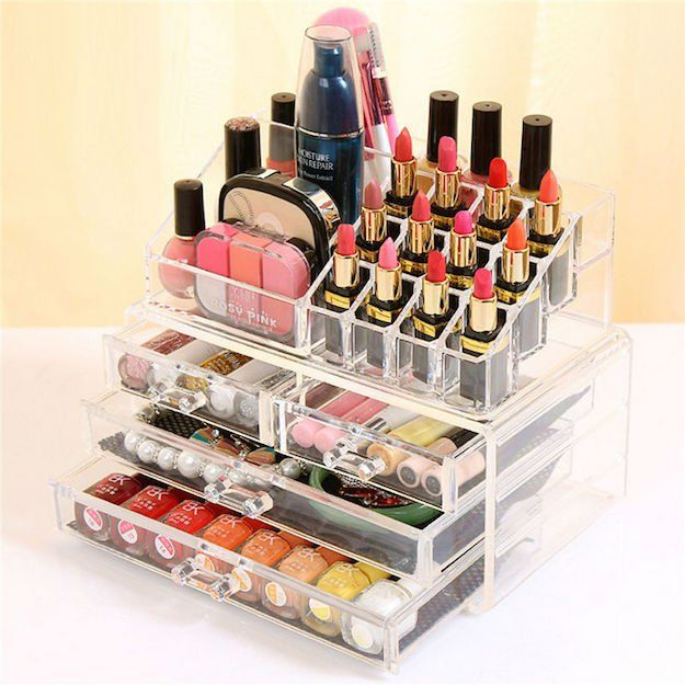 1000 images about makeup organizer auf pinterest Makeup organizer ideas