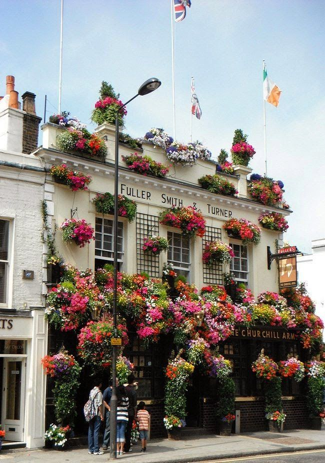 The Churchill Arms, Notting Hill, London.